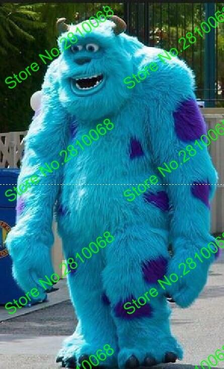 Syflyno Make Hot Sale Luxury Plush Sullivan Mascot Costume Cartoon Apparel Halloween Birthday
