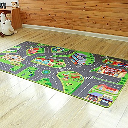 Très grand tapis enfants jeu Pad bébé ramper tapis grand tapis d'utilisation domestique tapis de sol avec TRP dos anti-dérapant Alfombra