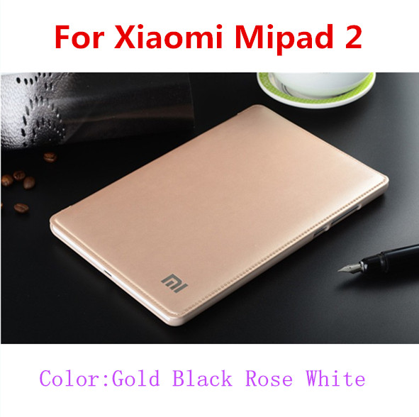 SZEGYCHX High Quality PU Case For Xiaomi MiPad 2 Shockproof Drop Dust Business Flat Protective Xiaomi Mi Pad 2 Cover + Touch Pen