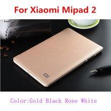 Szegychx alta calidad de la pu case para xiaomi mipad 2 gota a prueba de golpes polvo de negocios plana protectora xiaomi mi pad 2 cover + touch pluma