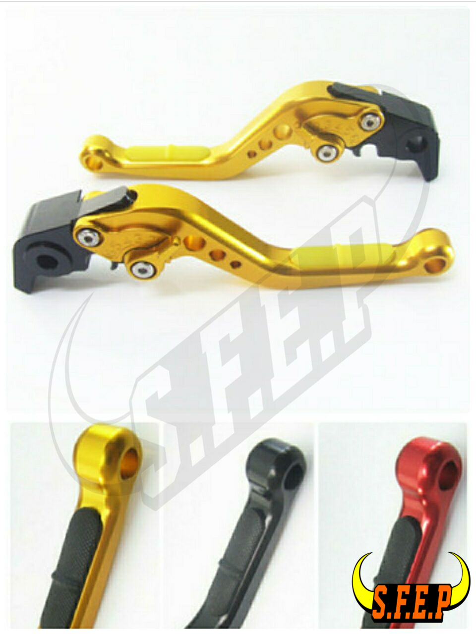 CNC Adjustable Motorcycle Brake and Clutch Levers with Anti-Slip For Aprilia TUONO V4R/Factory 2011-2016