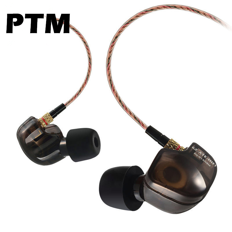 Original KZ ATE Sport Ear Hook 3.5mm Earphone Running Headset Bass Earbuds with microphone for Phone MP3 High Quality