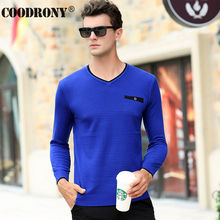Free Shipping Knitted Cashmere Sweater Men Brand Clothing V-Neck Pullover Men Wool Sweaters With Pocket Leisure Pull Homme 66180