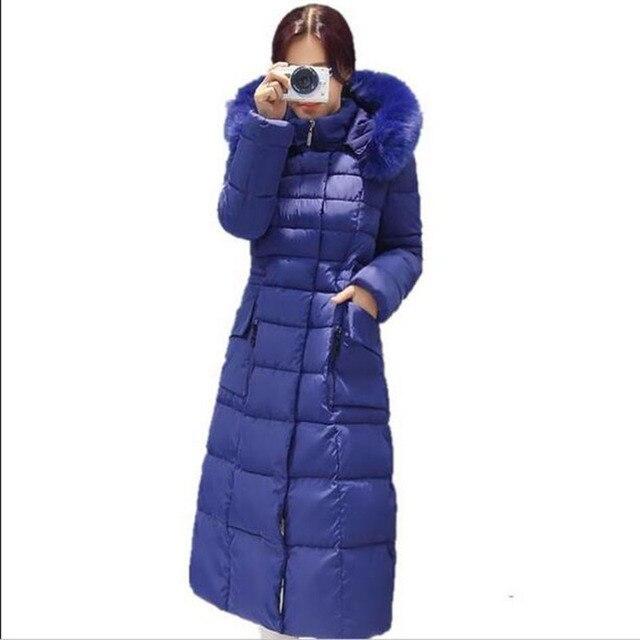 Manteau femme grand col capuche