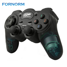 Wired Joypad Gamepads Gamepad Joystick USB 2.0 Shock Game Controller For PC Laptop Computer Good Gift Joystick