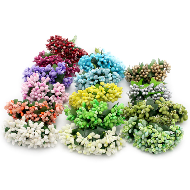 Zielsetzung Lucia Handwerk 12 Teile/los Künstliche Blume Staubblatt Drahtschaft Diy Kranz/hochzeit/dekorative Gefälschte Blume 027005002 Künstliche Und Getrocknete Blumen