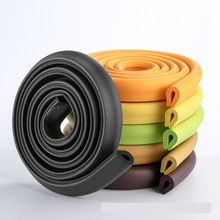 Bababiztonsági termékek U-alakú babaápolási eszközök vastag szivacs bump 2 méter ütközés elleni szalag borító gyerek biztonsági sarokban