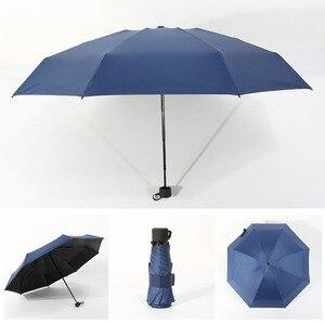 Image 4 - Sıcak 18 renk Mini cep şemsiye kadın UV küçük şemsiye şemsiye kızlar Anti UV su geçirmez taşınabilir Ultralight seyahat Dropship