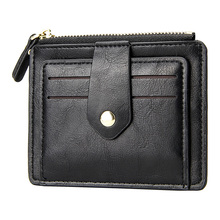 Fashion Men Credit Card Holder Men Bank Cards Case Protection Slim Business Card Holders Pu Leather Male Mini Wallet Coin Purse 2019 new credit card case for men women business card holder for pu leather cards purse automatic credit cards women wallet