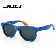 Polarized Wood Sunglasses Men Fashion Bamboo Sunglasses Wooden Sun Glasses Mens Women Brand Designer Oculos De So Feminino 3008