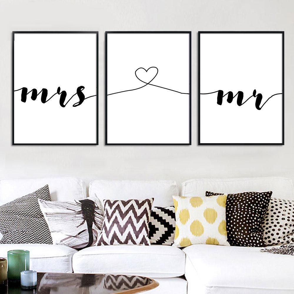 Mr-Mrs-Family-Simple-Quotes-Wall-Art-Canvas-Poster-Minimalist-Print-Couple-Anniversary-Painting-Picture-for (2)