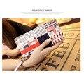 Lady purse, high quality PU printed fashion graffiti Long Wallet