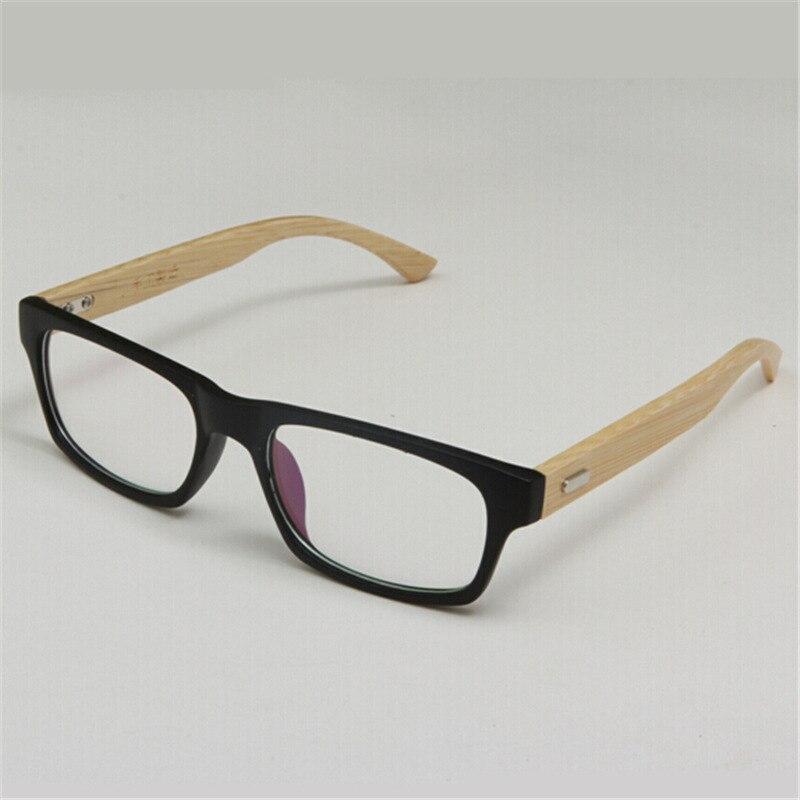 Nuevos graduados madera Gafas Marcos Monturas de gafas de bambú ...