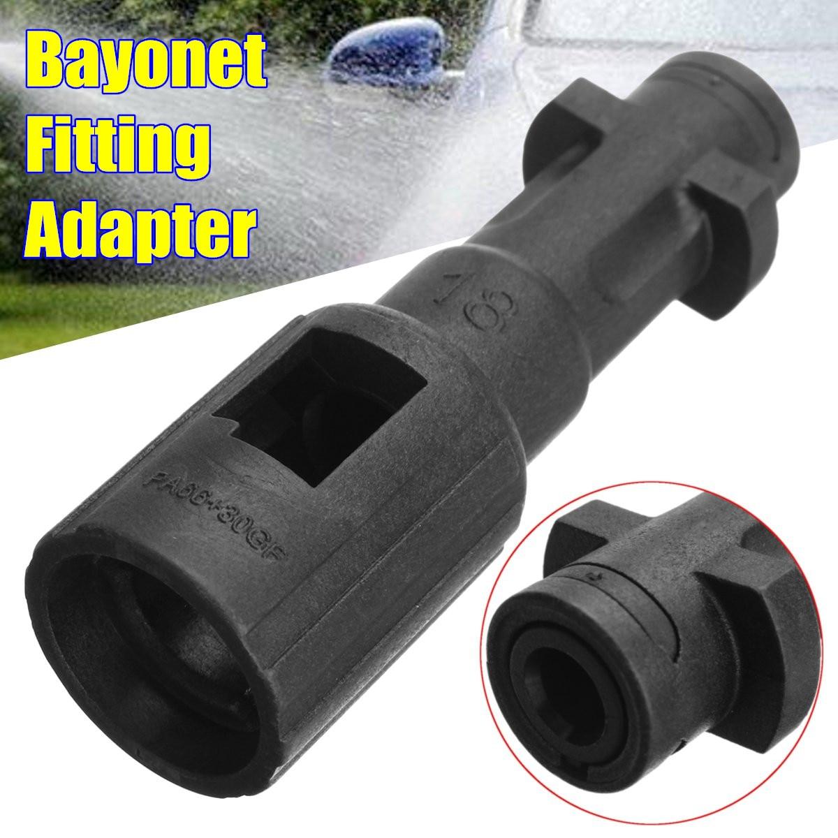 Bayonet Fitting Adapter Black For Kew For Nilfisk For Alto To Kar Cher K Series