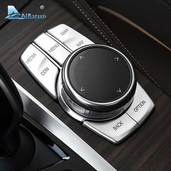 Airspeed for BMW 5 Series G30 528i 530i 540i Accessories Car Multimedia Buttons Cover Decal ABS Interior Decoration Car Styling - DISCOUNT ITEM  10% OFF Automobiles & Motorcycles
