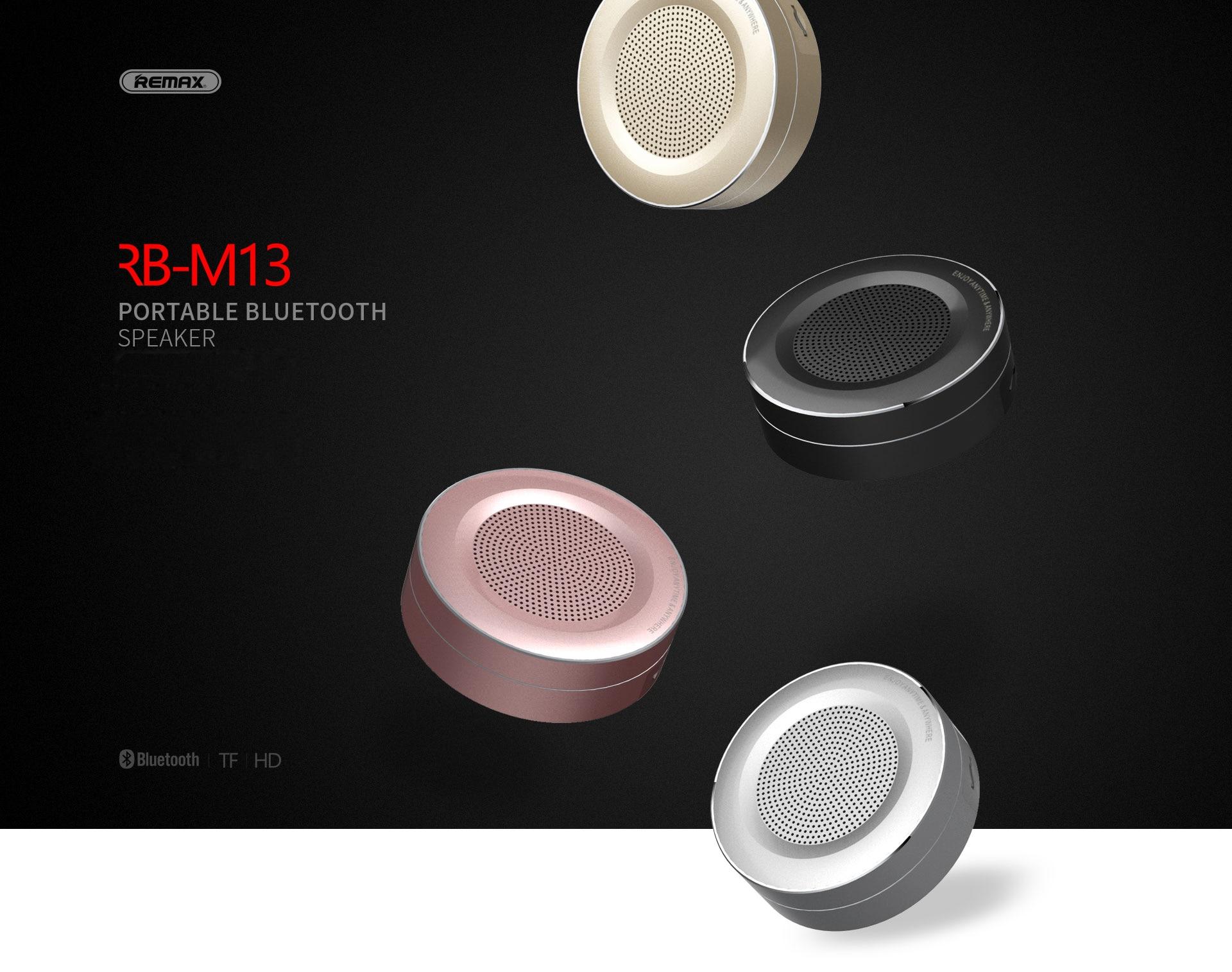 HTB1jaQKjKuSBuNjy1Xcq6AYjFXaZ Remax Bluetooth Portable Speaker RB-M13 - Black
