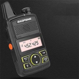 Image 5 - BF 658 Baofeng Walkie   talkie USB ชาร์จระยะทางวิทยุแบบพกพาไร้สายโรงแรมความปลอดภัย Walkie Talkie