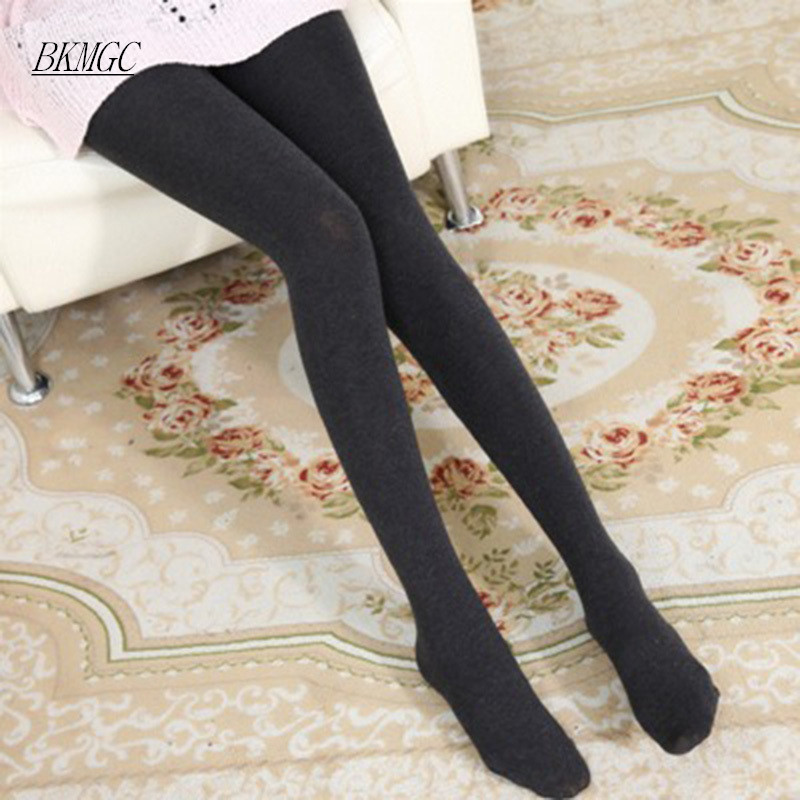 2017 fashion women tights winter Cotton stockings solid ...