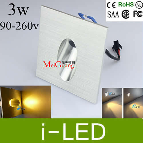 20off 3w led stair light lamp dimmable led recessed wall lights for 20off 3w led stair light lamp dimmable led recessed wall lights for indoor led mozeypictures Gallery