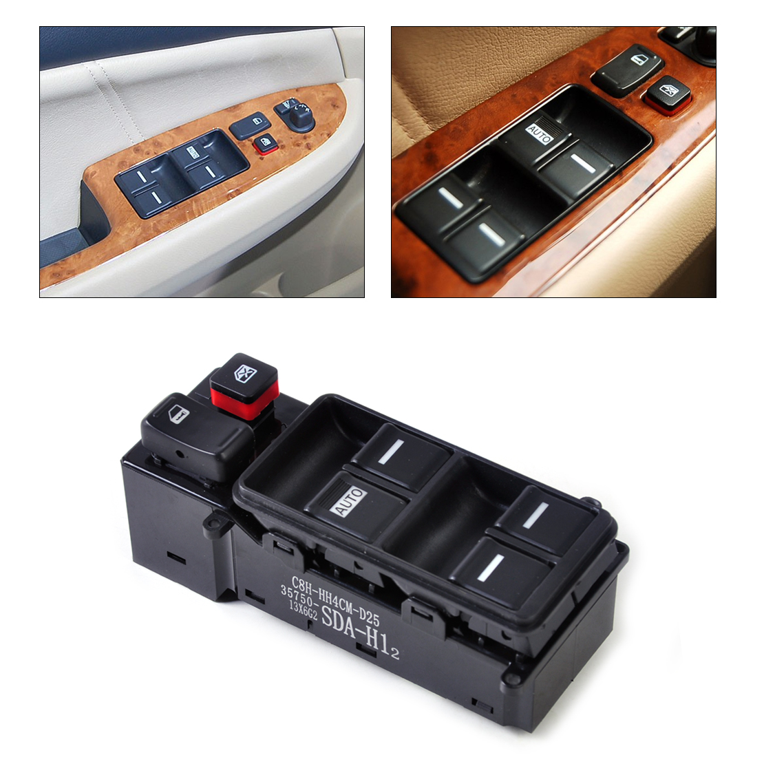 Compra honda interruptor de la ventana online al por mayor for 1994 honda accord power window switch