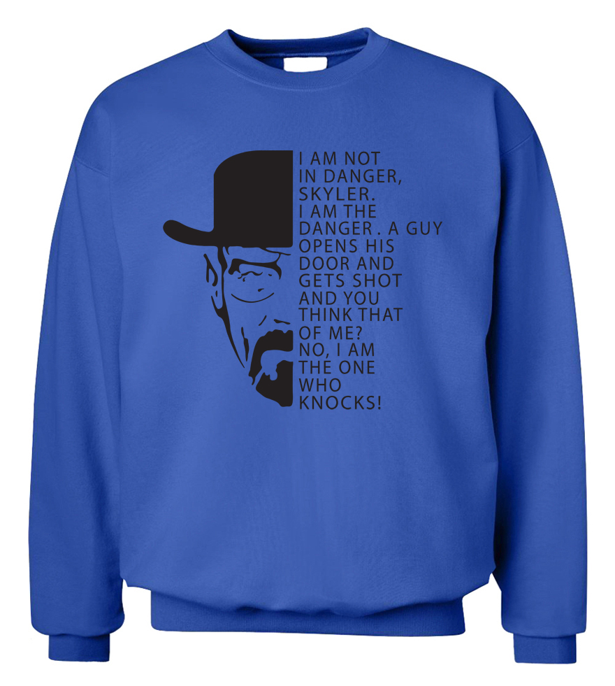 2019 New Autumn Winter Style Casual Men Sweatshirt Hoodies BREAKING BAD Heisenberg Man Hooded Fleece Slim Fit Hip Hop Streetwear