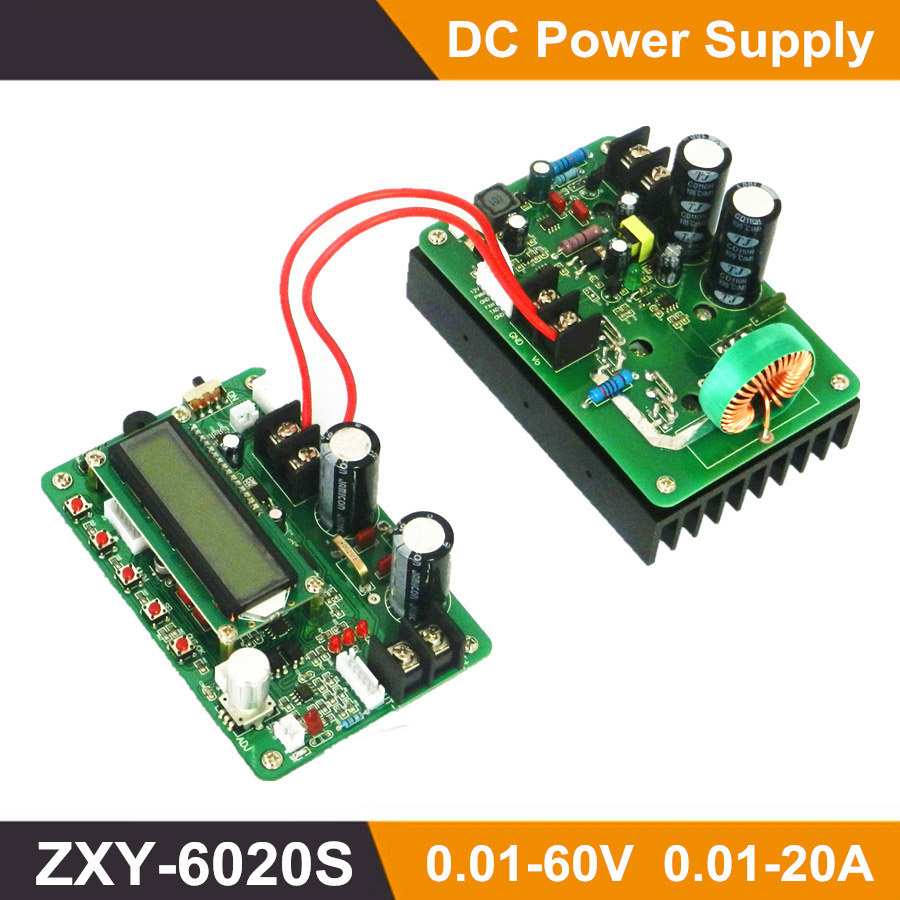 Zxy6020s 1200 W programmable high-power Buck DC power switch Board W/TTL-power modules 6020S ZXY DC-DC dhl ems 5 lots de ll cpc e cpce power switch led board w cable c a1