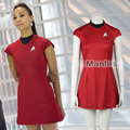 Star Trek Into Darkness Nyota Ухура Косплей Костюм Star Trek Равномерное Красный Кэрол Маркус Косплей Костюм Взрослых Женщин Платья