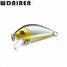 1PCS 5cm 3.6g topwater Swim Fishing Lure Japan Artificial Hard Crank Bait Wobbler Crank bait  Mini Fishing Crankbait lure NE-201