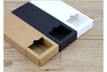 3 colors Brown Drawer Box for Tea Craft Gift Packaging kraft Paper Custom Retail Boxes