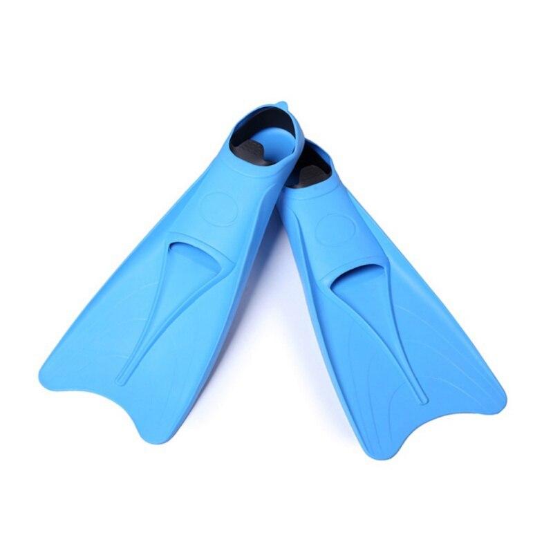 Palmes de formation professionnelle flexible Submersible chaussure M-XL palmes de natation silicone plongée en apnée palmes pied Submersible