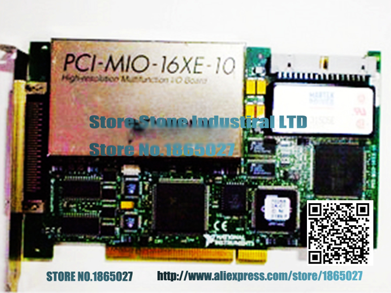 PCI-MIO-16XE-10 data acquisition card 100% test