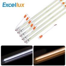 10 sztuk/partia AC 220V Led Bar światła 50CM 5730 72Leds Led sztywne taśmy Led Tube lampa Driverless wysokiej jasności szafki kuchenne światła