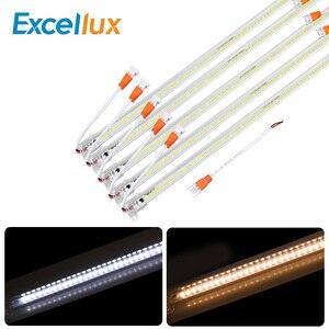 Image 1 - 10PCS/lot AC 220V Led Bar Light 50CM 5730 72Leds Led Rigid Strip Led Tube Lamp Driverless High Brightness Kitchen Cabinet Light