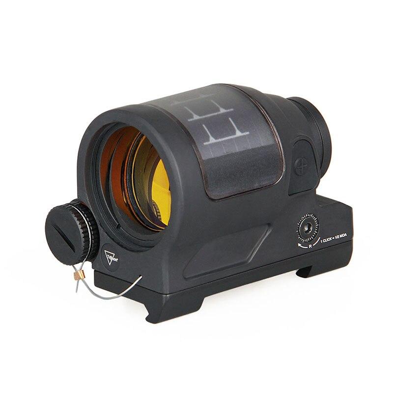 Wipson caça reflex sight sistema de energia solar caça srs 1x38 red dot sight scope com qd montar óptica rifle escopo