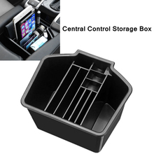 Center Console Armrest Storage Box Organiser Tray For Honda Civic 10th Gen 16~18 for honda fit jazz 14 15 low equipped model armrest center console storage box interior