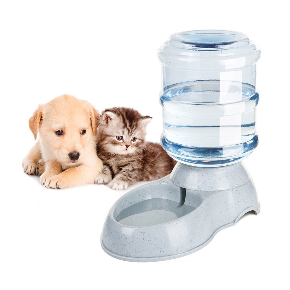 Sjb 3.5l Large Automatic Pet For Feeder Drinking Fountain For Cats Dogs Environmental Plastic Dog Food Bowl Pets Water Dispenser