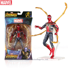 Hasbro Marvel Toys The Avenger Endgame 17CM Super Hero Thanos Wolverine Spider-Man Iron Man Action Figure Toy Dolls