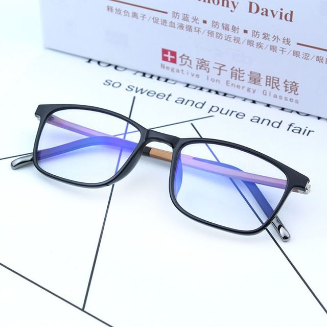 e69a81f97b7 Cubojue Computer Glasses Men Women Negative Ion Energy Anti Blue Light  Radiation UV400 TR90 Spectacles for Phone Gaming Work