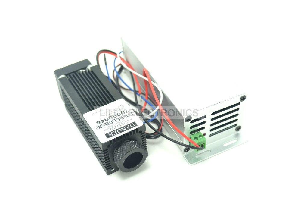 Фокус 4,0 Вт 808nm инфракрасный лазерный диод модуль 12 В DIY лаборатория высокое качество
