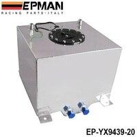 Epman 5 gallonen 20l schwarz beschichtetem aluminium racing/treiben brennstoffzellen gas tank + ebene sender ep-yx9439-20