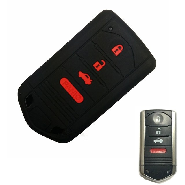 Car Smart Buttons Key Fob Remote Case Cover For Acura MDX ZDX RDX - Acura key
