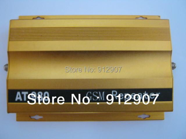 At980 teléfono celular GSM 900 mhz amplificador de señal, móvil GSM repetidor de la señal GSM amplificador de la señal con adaptador de energía