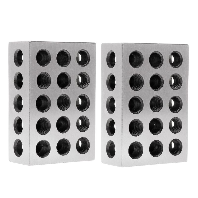 2pcs Hardened Steel Ultra Engineers Blocks Precision 1