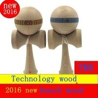 100 PCS gift Technology maple ash kendama Game Kids toy children's ball skills Queen sword ball skills ball educational