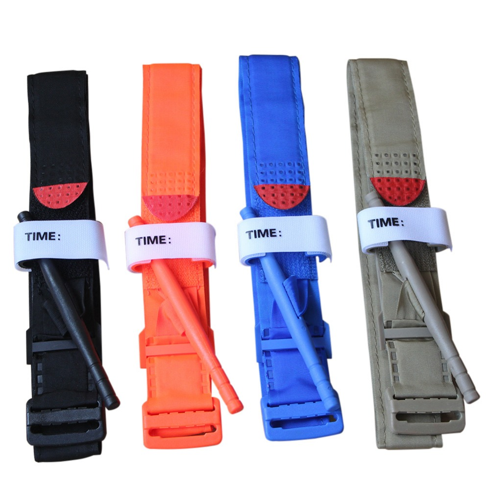 First Aid Quick One Hand Slow Release Buckle Medical Military Outdoor Portable Tactical Emergency Tourniquet Strap Equipment