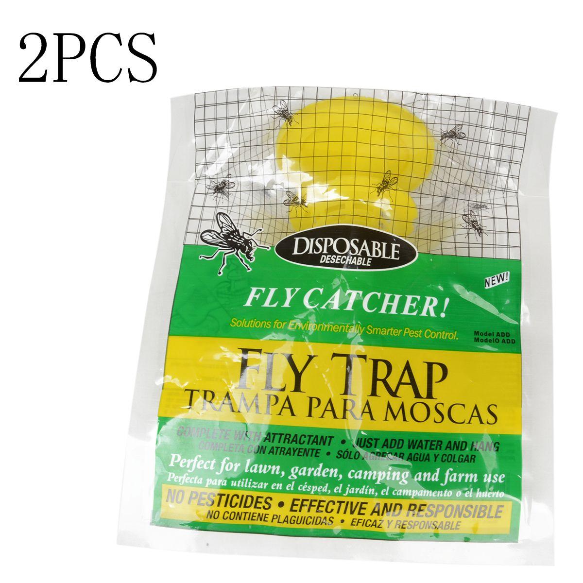 Mayitr 2 шт./лот одноразовые fly trap открытый сад Fly зрелище ошибка насекомых Борьба с вредителями Продукты 20x30 см