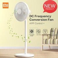 Original Xiaomi Mijia 1X DC ventilador de conversión de frecuencia Control de la aplicación para el suelo del refrigerador del hogar ventilador de pie aire acondicionado natural viento