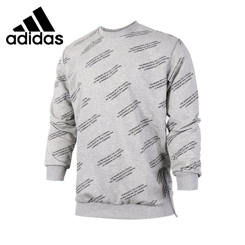 Original New Arrival 2017 Adidas Originals TRF AOP CREW Men's Pullover Jerseys Sportswear adidas original new arrival official neo women s knitted pants breathable elatstic waist sportswear bs4904