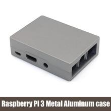 Raspberry Pi 3 Metal Aluminum Gray case – aluminum metal  Raspberry Pi 3 3rd generation case for Raspberry Pi 2&B plus&3