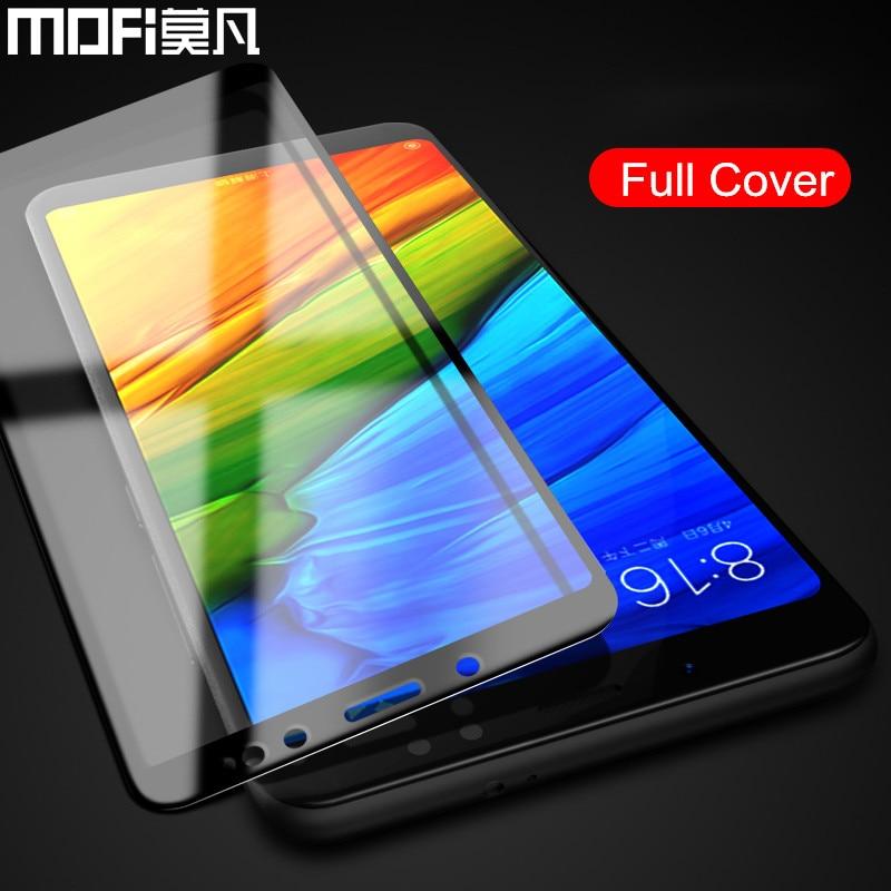 Xiaomi Redmi note 5 pro vetro note5 protezione dello schermo pieno pellicola della copertura MOFi originale Redmi note 5 Pro in vetro temperato 5.99